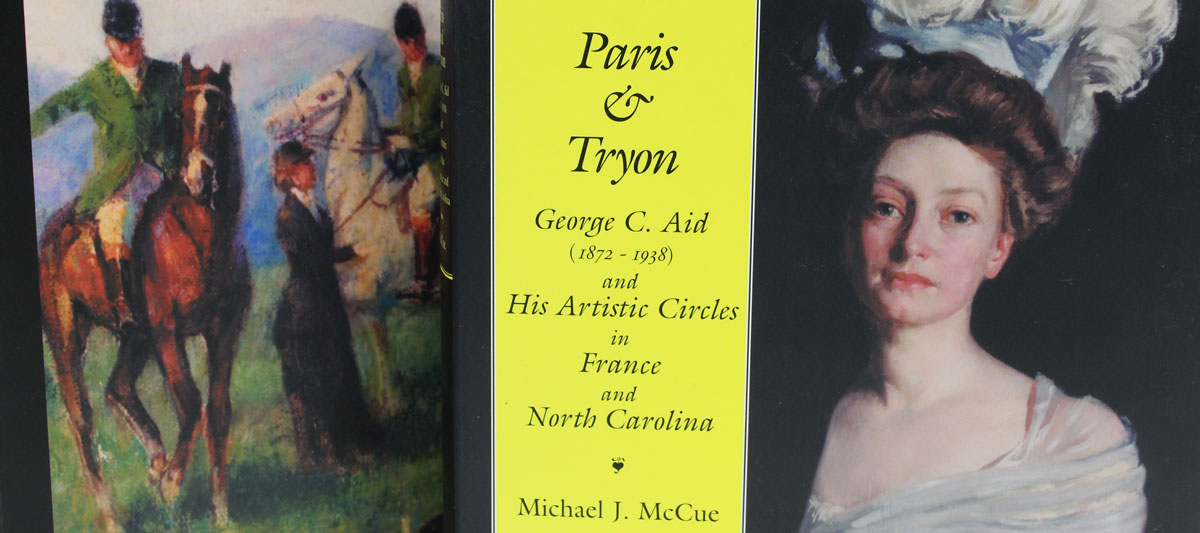 Paris and Tryon cropped shot of front and back of book